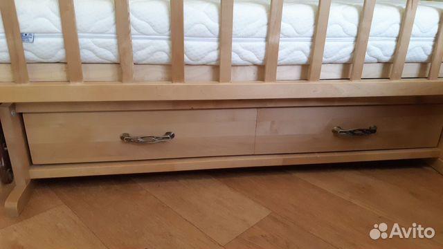 Кровать детская с маятником купить 3