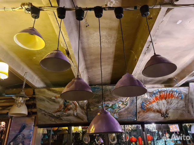 Комплект светильников для кафе