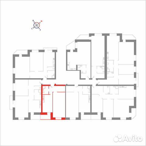 1-к квартира, 43.2 м², 5/8 эт. 89115506214 купить 3