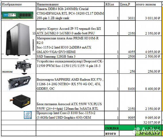 Продам компьютер 89137885579 купить 10