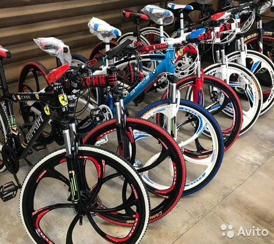 89527559801 Велосипеды на литых дисках