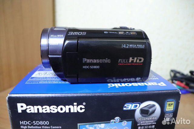 Видеокaмepа Раnаsoniс hdс-SD800 89381477093 купить 4
