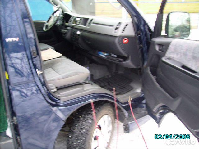Toyota Hiace, 2006  89190047664 купить 5