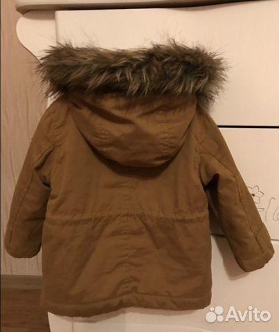 Куртка демисезонная Зара
