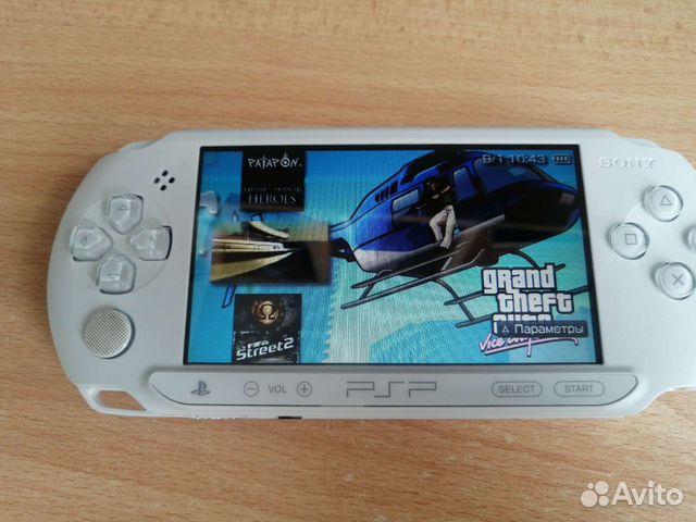 Sony PSP 10 игр на ней  89090439393 купить 1