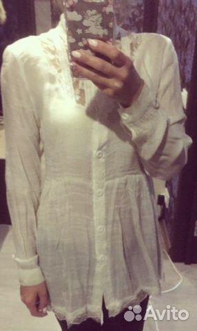 Рубашка белого цвета  89000111188 купить 2