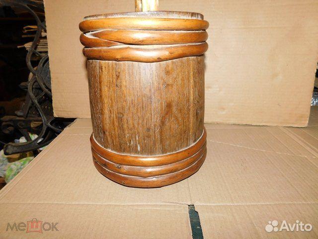 Старинный пивной-квасной дубовый бочонок 4-5 л  89065103360 купить 4