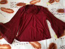 Туника, юбка и кофточка