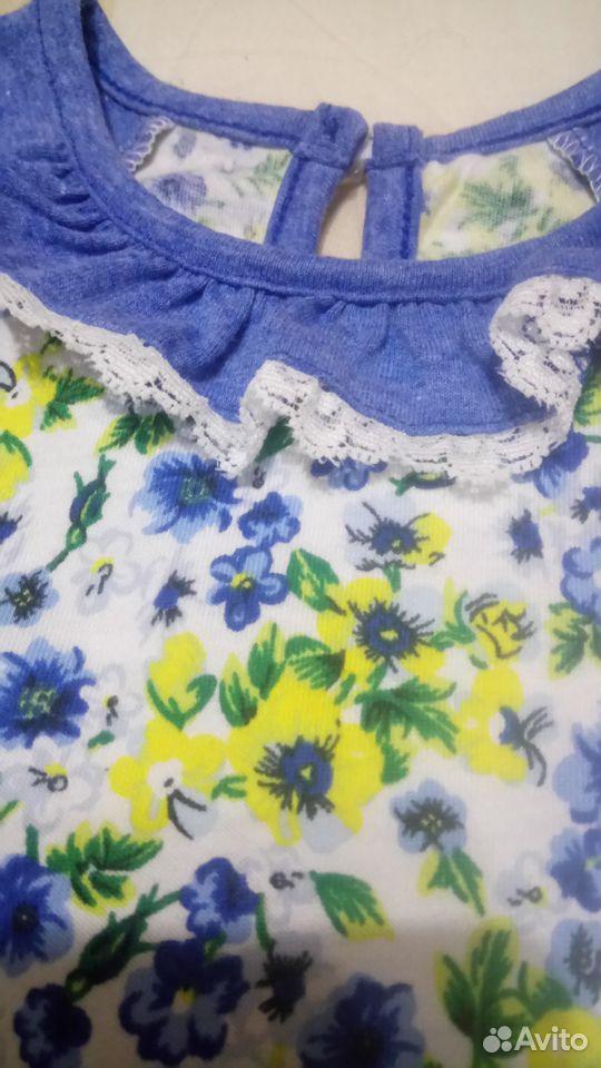 Платье д/д р.80 новое  89213578617 купить 3