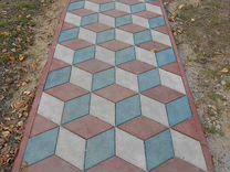 Плитка тротуарная Брусчатка полимерпесчаная