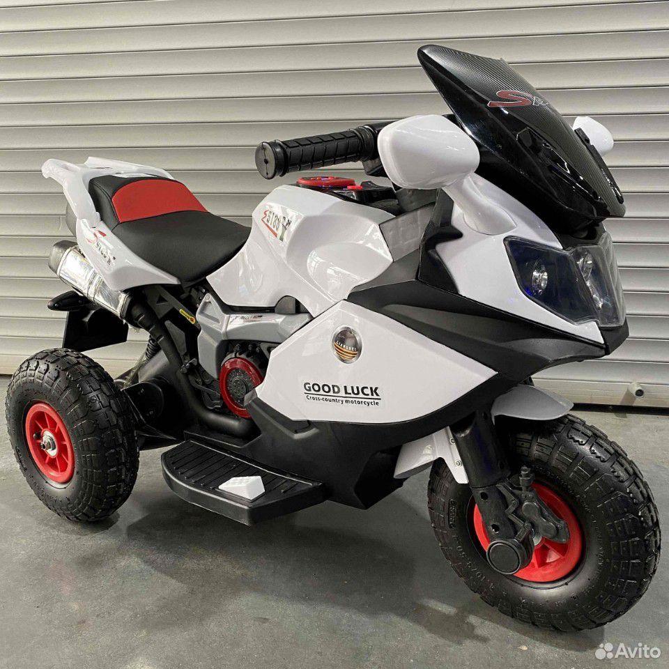 Электромотоцикл 5188 на надувных колесах