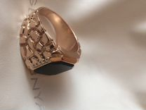 Золотой перстень(печатка)