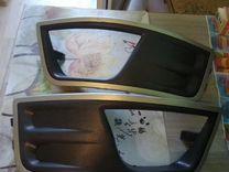 Форд фокус 2 накладки птф,на передний бампер