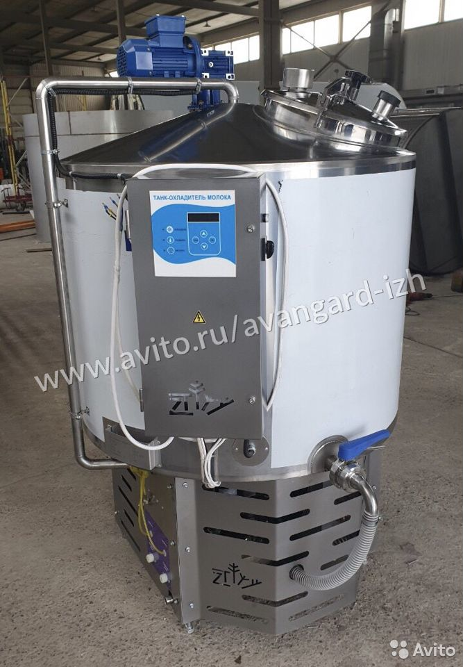Охладитель для молока закрытый  89511953938 купить 1