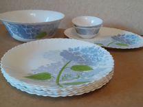 """Посуда """"Луминарк"""" Hortensia Blue"""