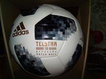 Футбол Telstar 18 - официальный игровой мяч 2018 F