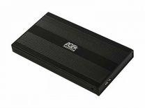 Внешние корпусы AgeStar 3UB2S (black) USB 2.0