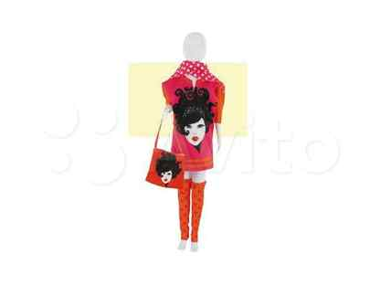 """Набор для изготовления игрушек DressYourDoll """"Одежда для кукол. Sally Girl Pink"""", арт. S111-0801"""