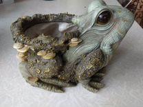 Кашпо Лягушка для цветов