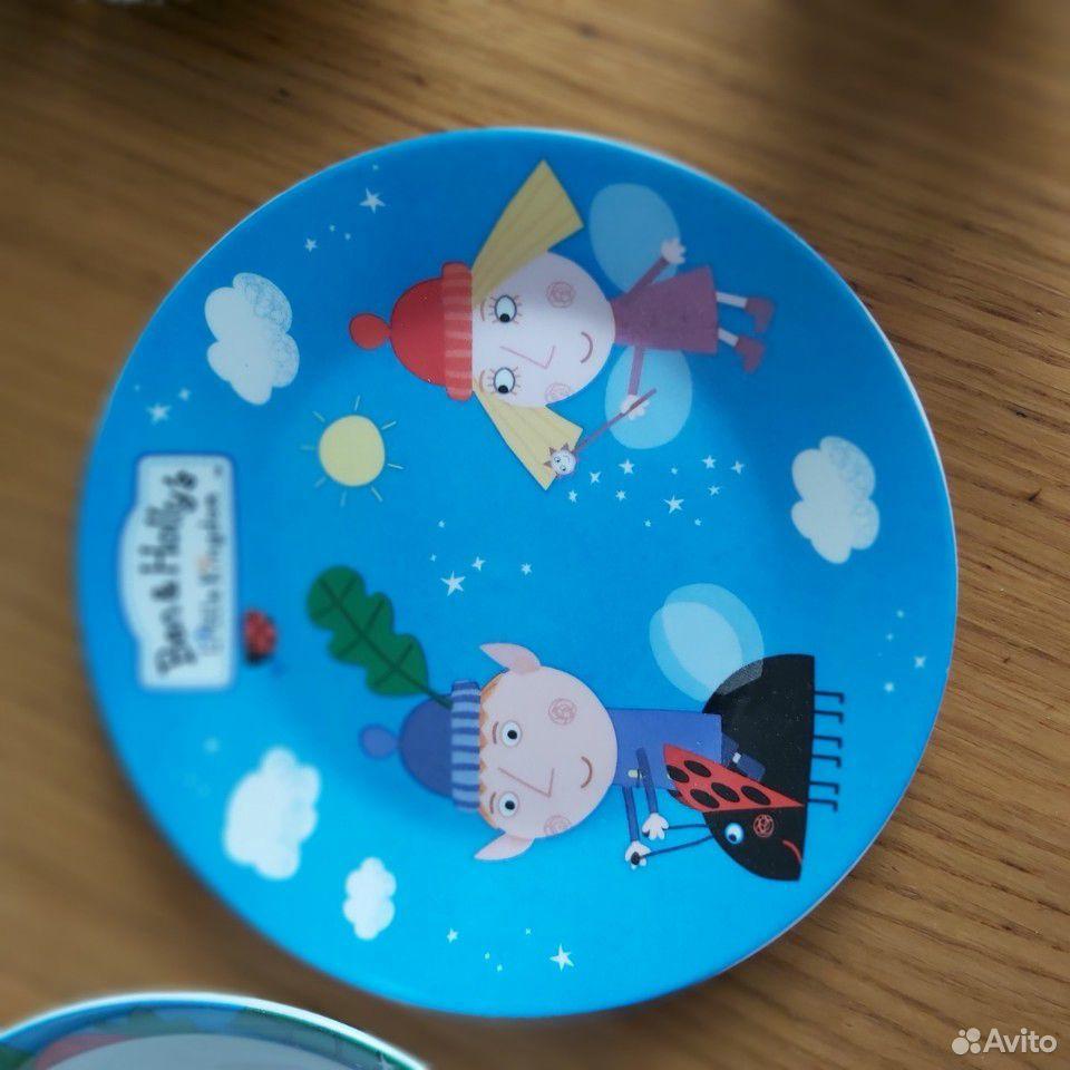 Набор детской посуды (3 предмета)  89173191130 купить 2