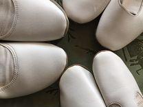 Балетки чешки белые