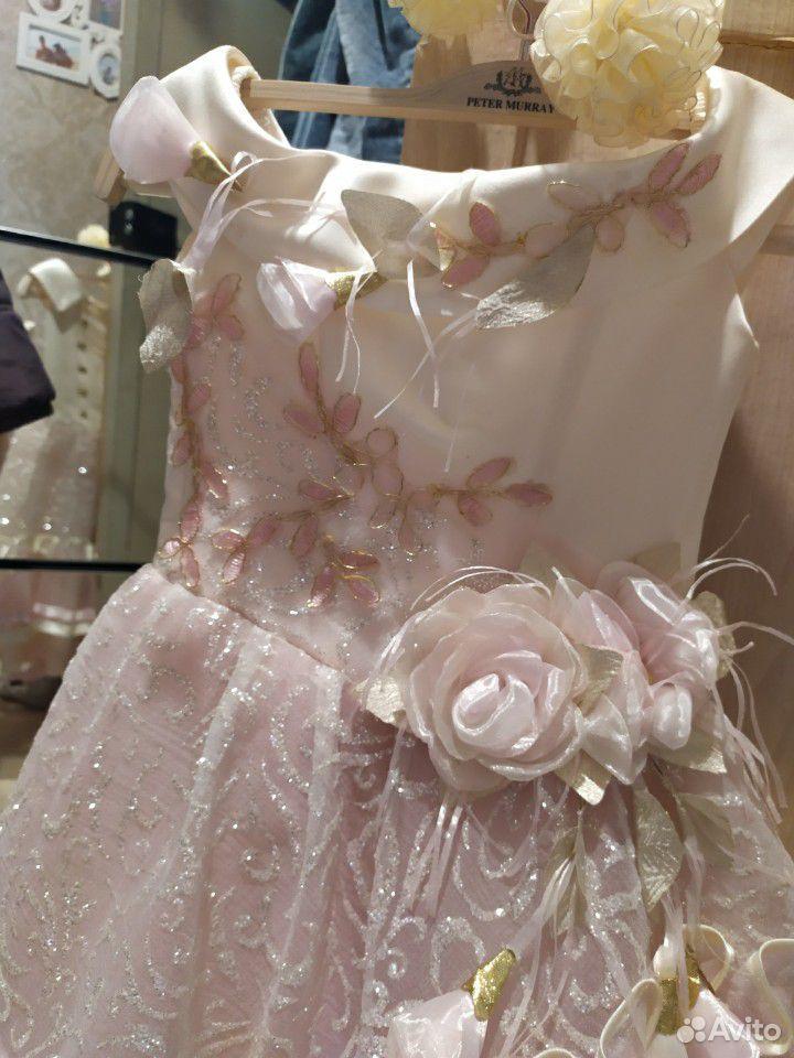Красивейшее нарядное платье для принцессы+туфли  89854569556 купить 5