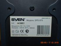 Акустическая система Sven 5.1 и 2.1