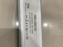 Блок питания 200W, 12V, IP67, extra slim, металл