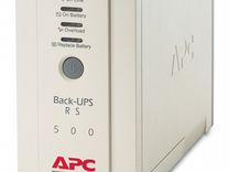 Ибп APC Back-UPS CS 500 (BK 500-EI)