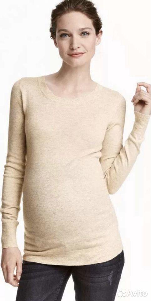Тонкий свитер для беременных H&M  89274132801 купить 2