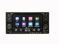 Магнитола Toyota штатная CD/DVD, SD, Bluetooth,AV