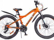 Велосипед black aqua Cross 2482 D matt 24