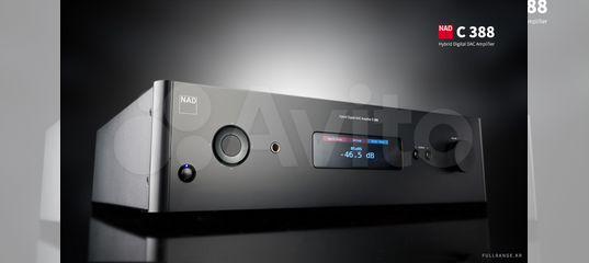 Гибридный цифровой усилитель с цап NAD C388