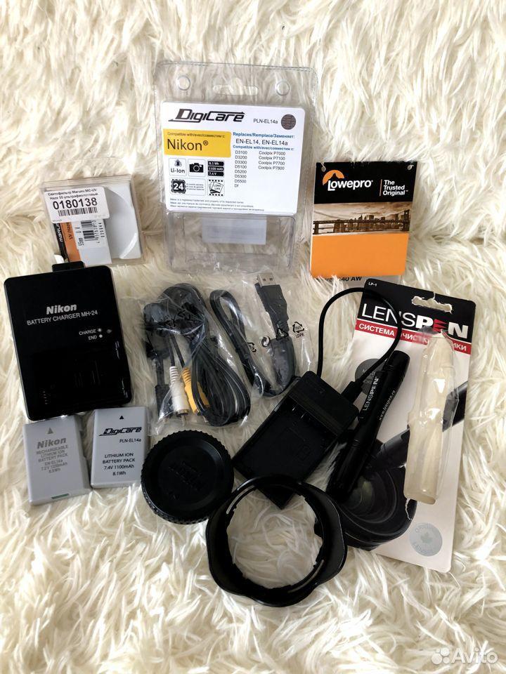 Фотоаппарат Nikon D3300AF-P 18-55VR Kit зеркальный  89177610980 купить 2