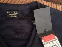 Новый джемпер мужской, темно синий, Massimo Dutti