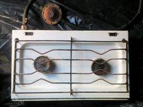 Плита газовая двухконфорочная