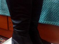 Сапоги деми, нат.кожа — Одежда, обувь, аксессуары в Новосибирске
