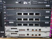 Маршрутизатор Cisco 7606 (шасси с 6 модулями)