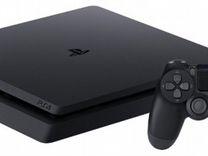Playstation 4 Slim 500Gb + 2 игры