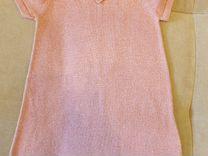 Платье нежно- розового цвета размер 104