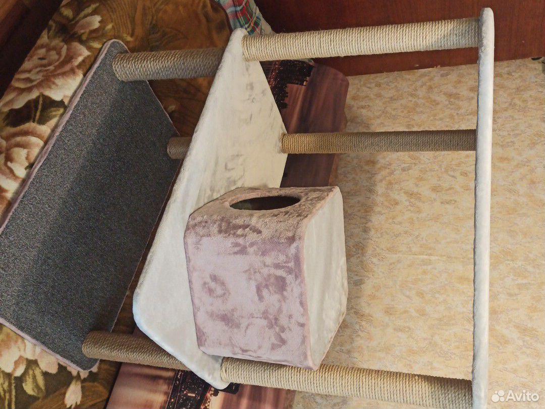 Когтеточка-домик для кошек  89995117703 купить 3