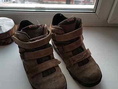 Детские зимние ботинки экко 32 рр