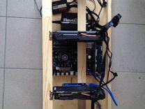 Майнинг ферма 5 видеокарт GTX1060