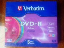 DVD+R verbatim 4.7Гб