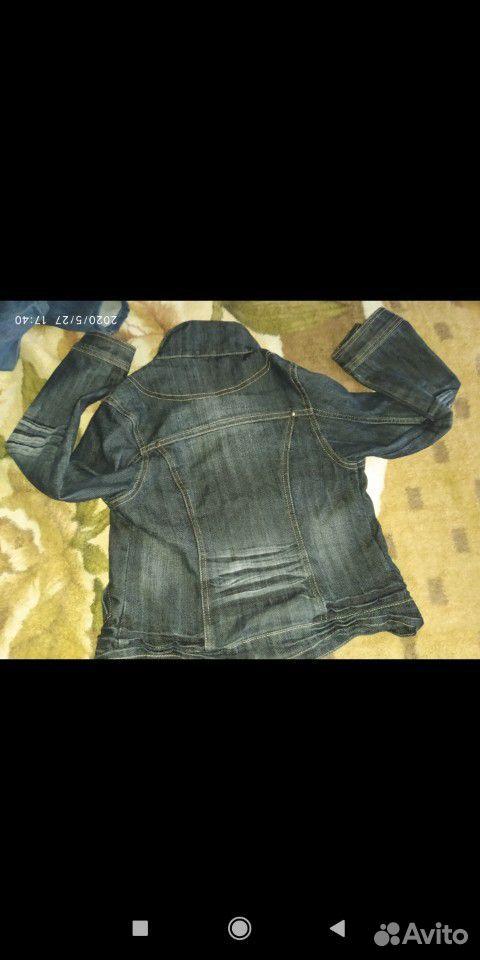 Джинсовые куртки и ветровка для девочки 7-8 лет  89109631283 купить 9