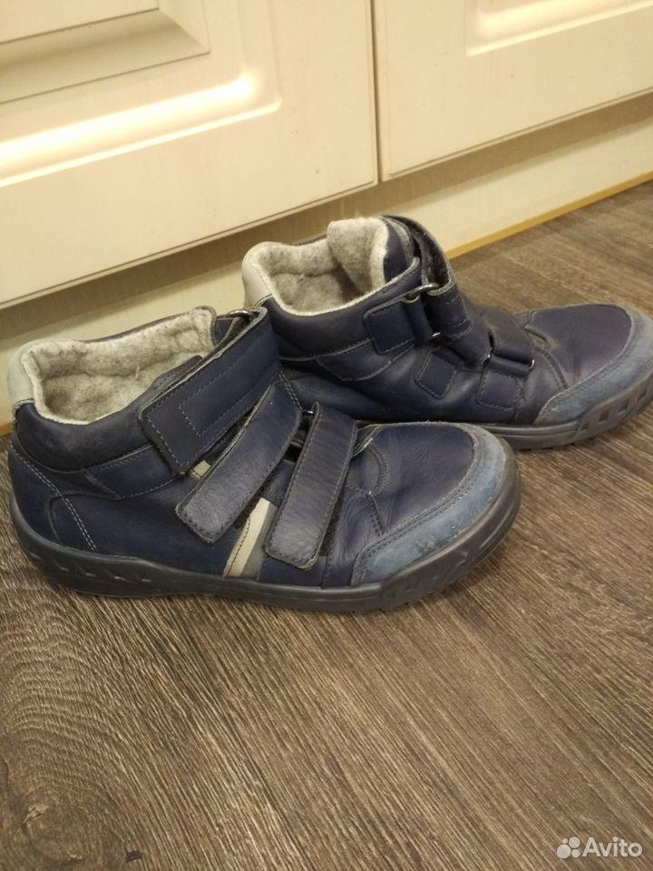 Продам осенние ботинки Котофей 39 размер, б/у  89051351301 купить 2