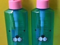 5 флаконов пластиковых с мордочками зверюшек