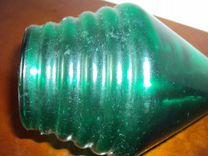 Французская бутылка из зелёного стекла