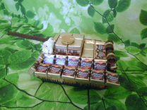 Танки из конфет ручной работы