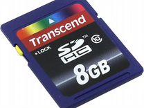 SD Карта памяти 8 GB Class 10